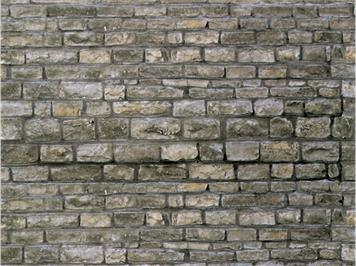 Vollmer 46040 Mauerplatte Granit HO