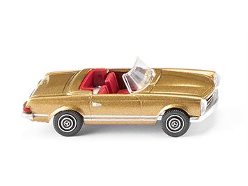 Wiking 014249 MB 250 SL Cabrio gold met. H0
