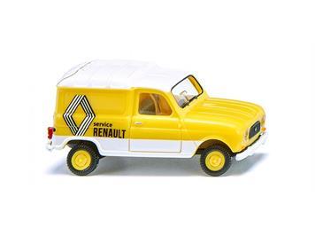 "Wiking 022503 Renault R4 Kastenwagen ""Renault Service"" HO"
