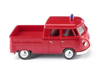 Wiking 086128 Feuerwehr VW T1 Doppelkabine HO