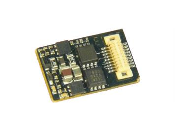 ZIMO MX618N18 Miniatur Decoder mit Next-18 Schnittstelle, Fu-Ausgänge, 4 Logikpegelausgäng