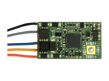 Zimo MX820E Zubehör-Decoder für eine Weiche oder ein 2begriffiges Signal