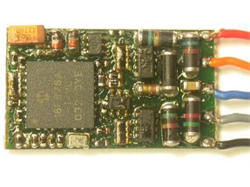 Zimo MX82V Magnetartikel Decoder für 2 Weichen oder 4 Lampen, 4 Servos