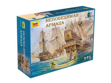"Zvezda 6505 ""Armada Invincible"" Historic Tactical Wargame at the Sea!"