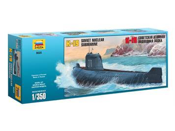 Zvezda 9025 K-19 Sov.Atom U-Boot · Maßstab 1:350