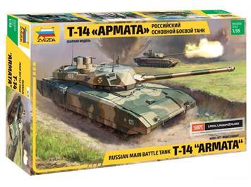 Zvezda T-14 Armata Russian Main Battle Tank · Maßstab 1:35