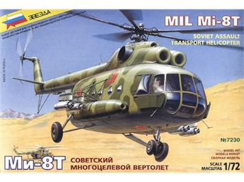 Zwezda 7230 MIL-8T Helicopter 1:72