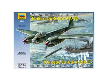Zwezda Junkers Ju88 A-17/A-5 1:72