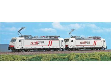 A.C.M.E. 90096 Crossrail 2er Set BR 186 904 und BR 186 902 DC/Gleichstrom