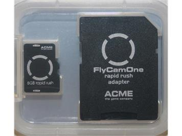 ACME FCO3 Rapid Rush 10.0, 8 GB Micro SD-Card + SD-Card Adapter 10 MB/Sek.