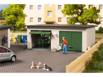 Auhagen 11456 Doppelgarage HO