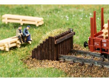 Auhagen 44655 N Prellbock Holz