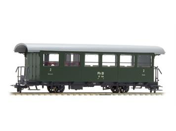 Bemo 3233 124 RhB B2 1414 ex AB2 Zweiachser grün