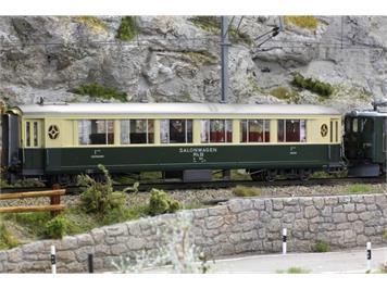 Bemo 3272 101 RhB A 1141 Salonwagen grün/beige