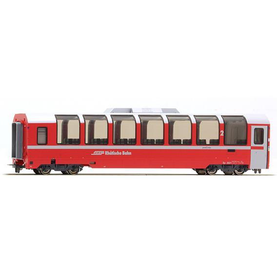"Bemo 3694 131 RhB Bp 2521 Panoramawagen ""Bernina Express"" HO"