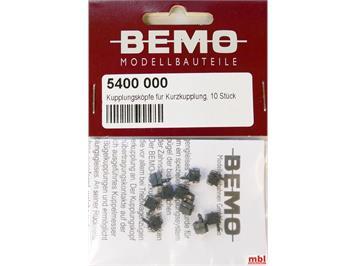 Bemo 5400 000 Kupplungsköpfe für Kurzkupplungsköpfe, 10 Stück