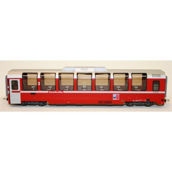 "Bemo RhB Bp 2524 Panoramawagen neurot mit Logo ""100 Jahre Bernina"""