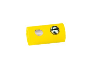 Brawa 3041 Muffen rund 2,5 mm gelb (10 Stk.)