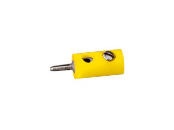 Brawa 3051 Stecker rund 2,5 mm gelb (10 Stk.)