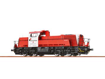 BRAWA 42772 Diesellokomotive GRAVITA , DC, DCC mit Sound, H0