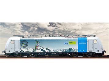 BRAWA 43962 Elektrolokomotive TRAXX Baureihe 186 der BLS Cargo DC/Sound