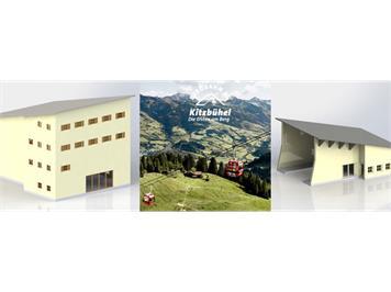 Brawa 6343 Gebäudebausatz zur Hahnenkamm Berg- und Talstation H0