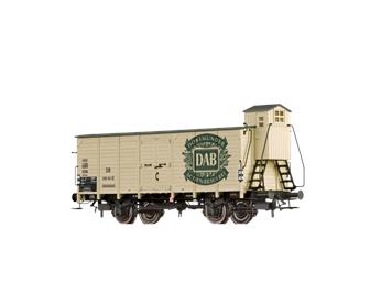 """BRAWA 67476 gedeckter Güterwagen G10 """"DAB"""" DB N"""