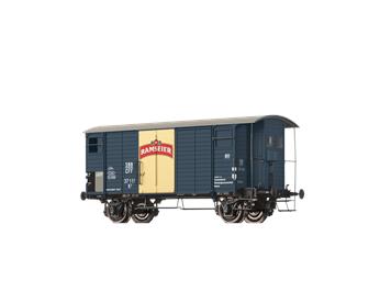 "BRAWA 67857 gedeckter Güterwagen K2 ""Ramseier"" SBB N"
