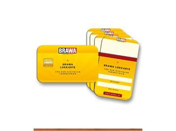BRAWA 93705 Lokkarten 5er Set