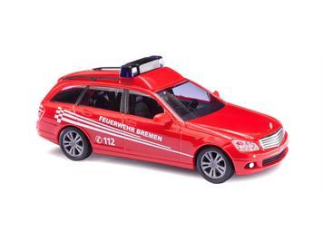 "Busch 43658 Mercedes-Benz C-Klasse ""Feuerwehr Bremen"" HO"