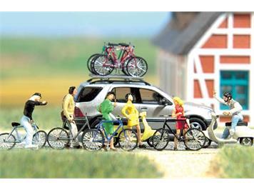 Busch 6013 Zweirad-Set HO