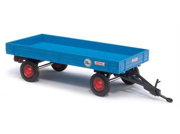 Busch landwirtschaftlicher Anhänger blau (BJ 1958) HO