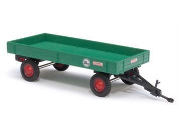 Busch landwirtschaftlicher Anhänger grün (BJ 1958) HO