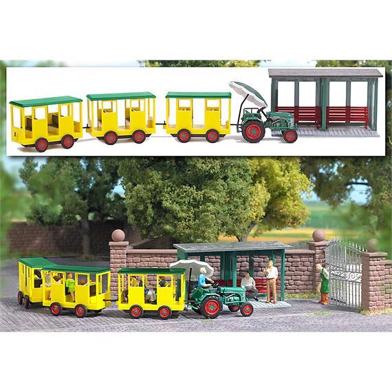 Busch Parkbahn mit Haltestelle HO
