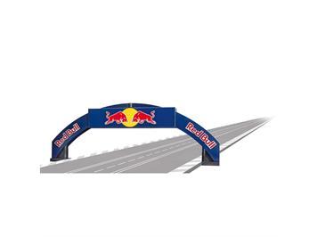 Carrera 20021125 Rennbogen Red Bull 1:32
