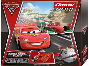Carrera Go! 62238 Disney Pixar Cars Porto Corsa Racing, 5,4 Meter