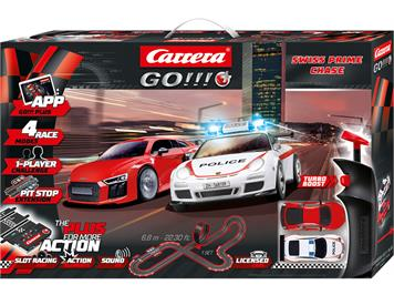 Carrera Go! Plus 20066012 Swiss Prime Chase 6.8 Meter