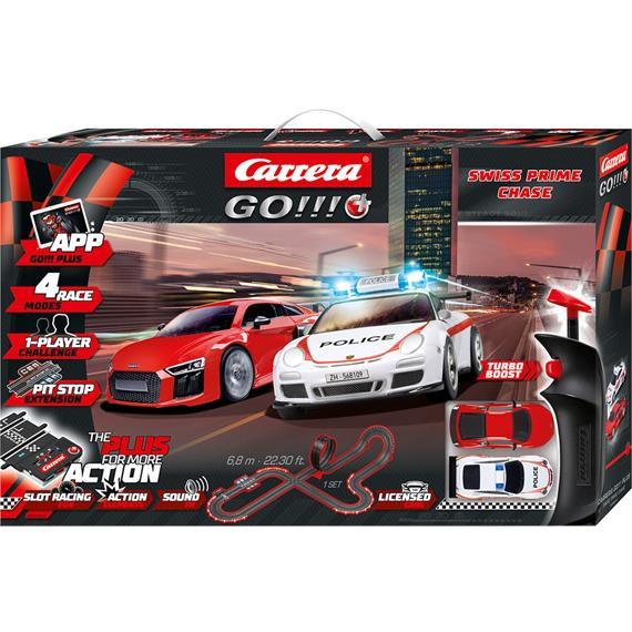 Carrera Go! Plus 20066012 Swiss Prime Chase 6.8 Meter