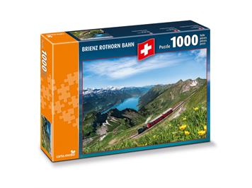 Carta.Media 7264 Puzzle Brienz Rothorn Bahn