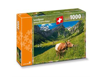 Carta.Media 7267 Puzzle Seealpsee Appenzell- Innerrhoden (1000 tlg.)