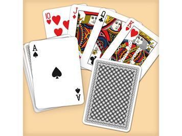 Carta.Media 7500 Pokerkarten in Klarsichtbox