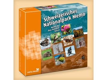 "Carta.Media Memory 7104 ""Schweiz. Nationalpark"""