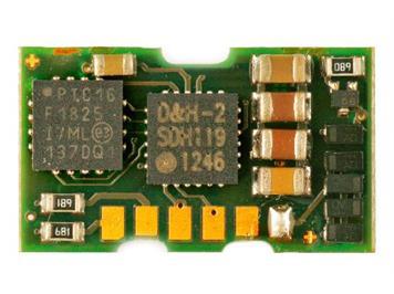 Doehler + Haass (111) DH06A Fahrzeugdecoder für Miniaturmotoren 0,3 A/6 V (Köf)