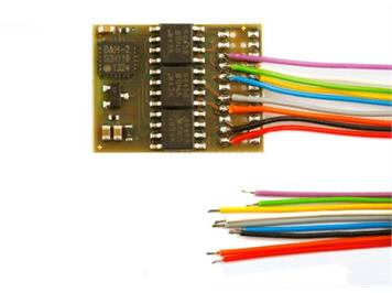 Doehler + Haass (124) DH21A-3 Fahrzeugdecoder an Litzen