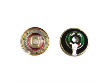 ESU 2 Lautsprecher 13 mm, rund, 50 Ohm, mit Schallkapsel