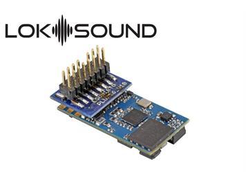 """ESU 58814 LokSound 5 micro PluX16 mit Lautsprecher """"Leerdecoder"""" DCC/MM/SX/M4 für N/TT/HO"""