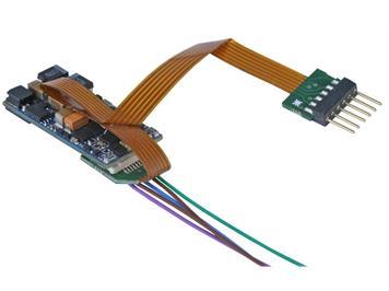 ESU 58816 LokSound 5 micro 6-pin an Litzen & Lautsprecher DCC/MM/SX/M4 für N/TT/HO