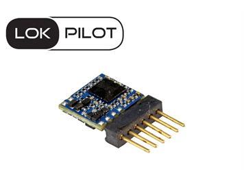 ESU 59817 LokPilot 5 micro DCC/MM/SX, 6-pin Direkt, Spurweite N, TT