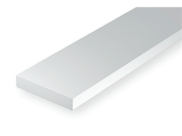 Evergreen 125 Vierkantprofile, 350x0,50x2,50mm, 10 Stück