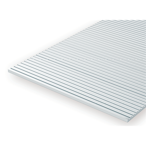 Evergreen 4067 Strukturplatte, 1x150x300 mm.Spur 0-Maßstab, 1 Stück